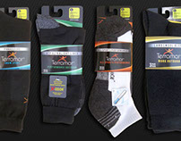 Terramar Socks - Branding / Packaging redesign