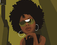 Afrochic Illustration
