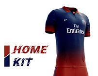 Paris Saint Germain Football Kit 18/19