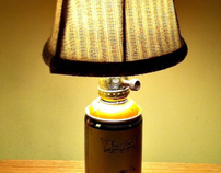 Spray Can Lamps