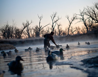 Waterfowl hunting with Beretta USA