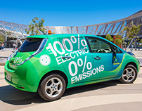 Car Wraps Design for Adelaide Airport