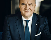 Smart Business Photo Session President of INTER