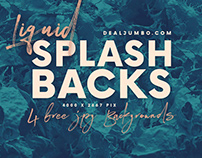 Liquid Splash – Free Backgrounds
