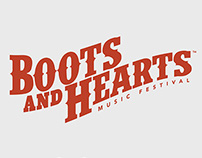 Boots & Hearts Music Festival // Branding + Design