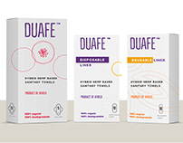 Duafe - Hybrid Hemp Sanitary Towels, Product of Africa.