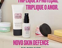 Posts e Stories Campanha Choice (The Body Shop)