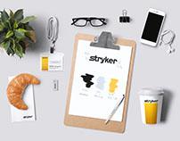 stryker advertising material