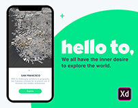 Hello to - Your Creative City App. #IconContestXD