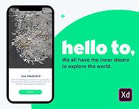 Hello to - Your Creative City App. #IconContestXD