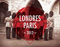 Londres - Paris 2012