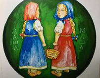 Russian Fairy Tale Illustration