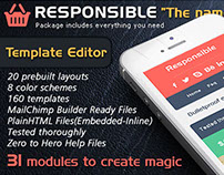 """RESPONSIBLE"" Email + Email Template Builder Access"