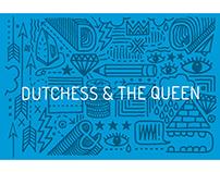 Dutchess & the Queen // Brand identity + illustrations