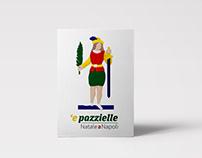 'e pazzielle | Natale a Napoli postcards
