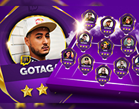Twitch streamer TOTY ( Personal project )