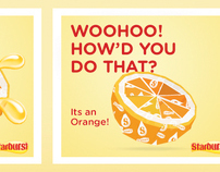Starburst - Origami campaign