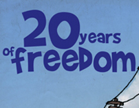 20 years of freedom