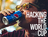 Hacking the world cup ft. Carlos vives / Pepsi