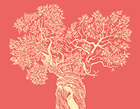 the tree, disegnato per Feltrinelli Point di Altamura
