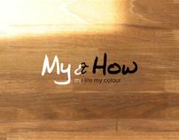 「My & How」網頁互動設計