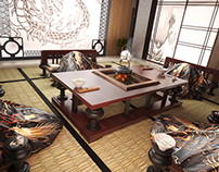 Dragon Karma. Room Visualisation. 3Ds Max & Vray