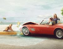Beach Crash!