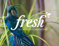Fresh Occasion Coordination Branding