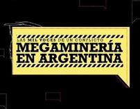 Sitio interactivo - Megaminería en Argentina