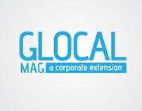 GLOCAL MAGAZINE BRANDING