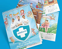 Illustrations for a calendar