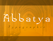Typographie Abbatya