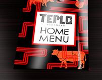 Айдентика. Ресторан «TEPLO». Киев