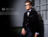 Mens Evening Wear Advertorial