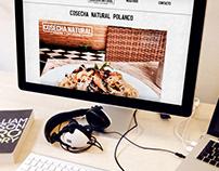 Cosecha Natural - Web Design