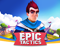 Epic Tactics - character design & Animations