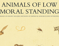 Animal Morals Posters