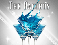 Flyer Design for a Bacchus Charity Event