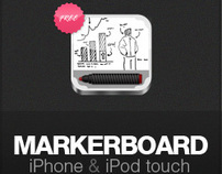 Markerboard app for iPhone and iPod touch