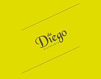DA Diego - Logo & Menu