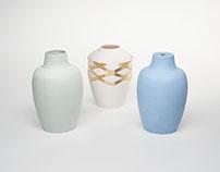 Bottle Kiln inspired vessles