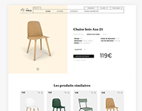 LA PIÈCE - INNOVATIVE FURNITURE WEBSITE