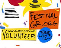 2018 Festival of the Arts Volunteer Flyer