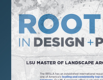 Master of Landscape Architecture Poster