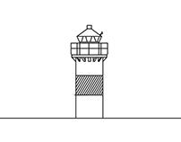 Lighthouses for Hammarö Skärgårgårdsmuseum