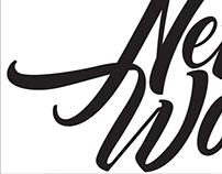 New wok lettering logo