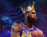 Lebron James- Los Angeles Lakers.