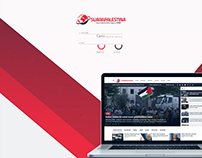 Suarapalestina Website