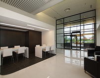 Denso Manufacturing new reception area