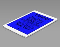 TONE 3 iPad magazine